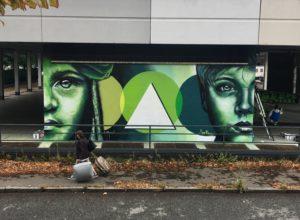Artwork in Turin
