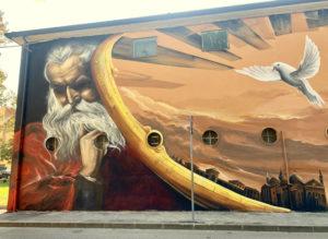 Artwork in Padova